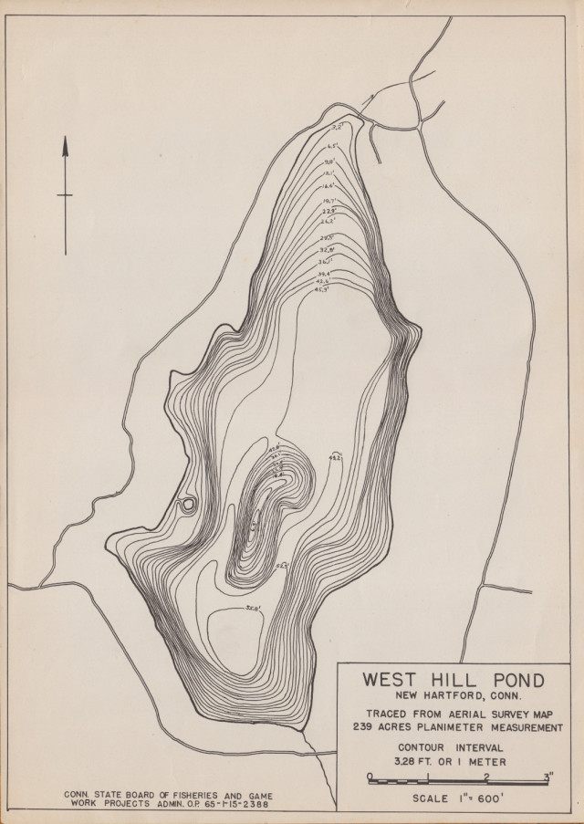 West Hill Pond WPA Bathymetry
