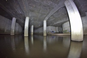 Junction Room, Looking Downstream