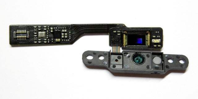 Camera with Sensor Visible
